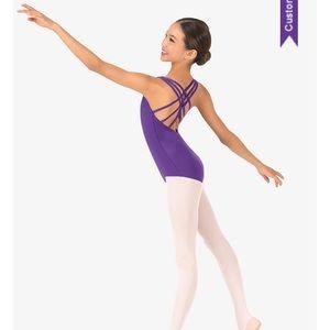 BRAND NEW - Purple Dance Leotard